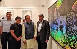 Hetal Shukla Art Exhibition Titled – Eye Didn't Note