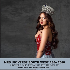 TANVI SHAH GUPTA South West Asia Universe 2018