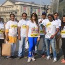 FitIndia – MedscapeIndia seize the attention with their uniqueness  in Tata Mumbai Marathon