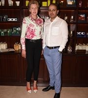 Joanna Broughton, The Executive Director, Truefitt & Hill Global Visits India