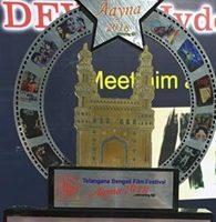 Hollywood Director Sohan Roy awarded at Telangana – Bengali Film Festival