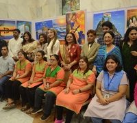 The Empowerment of Disabled persons painting cum Artwork Exhibition by 194 Disabled persons