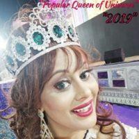 Popular Queen of Universe-2019 ANGEL TETARBE