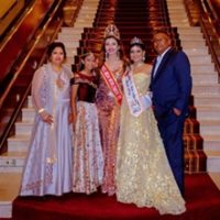 Miss India World Wide Shree Saini Gets A Rousing Reception In South Africa