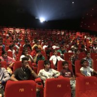 Save the Children Organaised Special Screening Of Gully Boy For Street Children From Various Parts Of Mumbai at PVR Goregaon