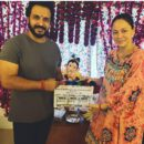 Vinay Anand Gets Gift From Ganpati Bappa